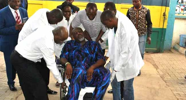 BREAKING: Melaye Moved To DSS Medical Facility, Police Confirm