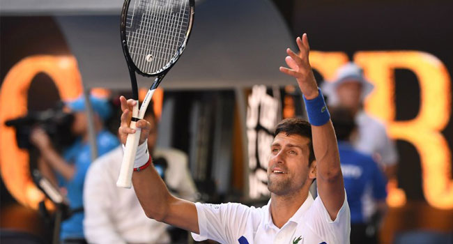 Djokovic Fights Past Shapovalov In Four Sets At Open