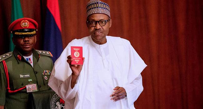 President Buhari Launches New E-Passport
