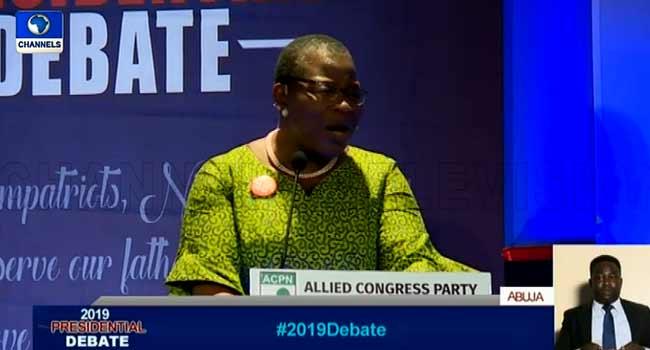 How I Plan To Tackle Girl-Child Education If I'm Elected President – Ezekwesili