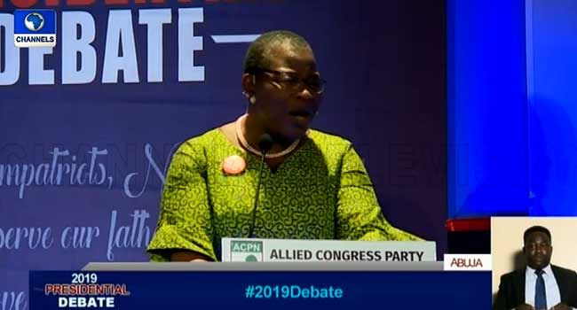 Ezekwesili: It's Too Late For Presidential Candidates To Withdraw — INEC