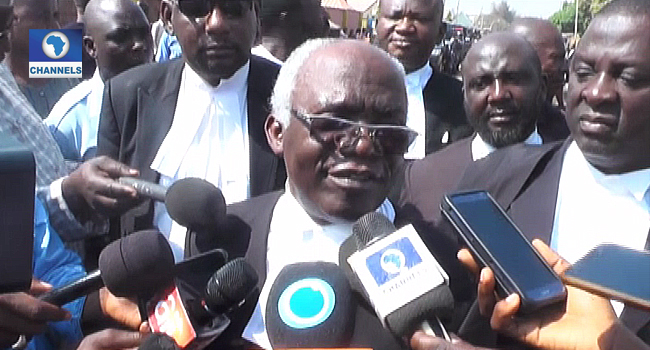 El-Zakzaky Suffering From Glaucoma, In Need Of Urgent Medical Attention – Falana