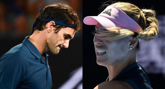 Federer, Kerber Crash Out Of Australian Open As Nadal Powers On