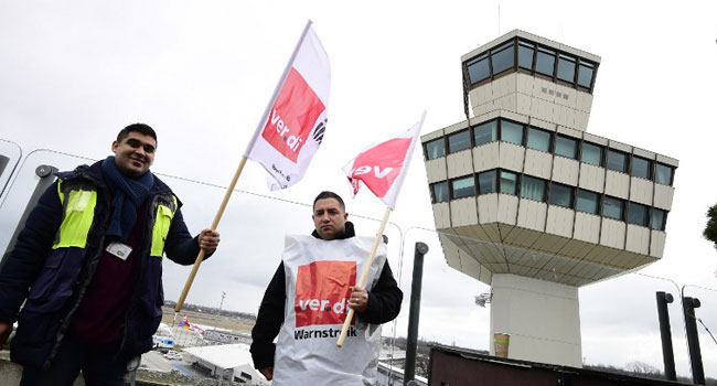 Hundreds Of Flights Cancelled As Fresh Strike Hits German Airports