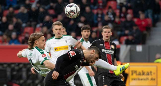 Gladbach Stay In Bundesliga Title Race With Win At Leverkusen