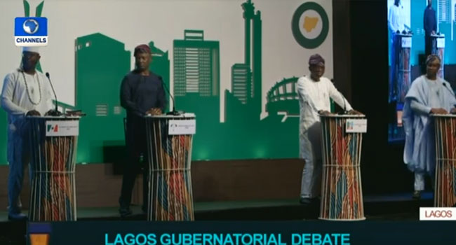 Gridlock, Health, Education In The Spotlight As Lagos Governorship Candidates Debate