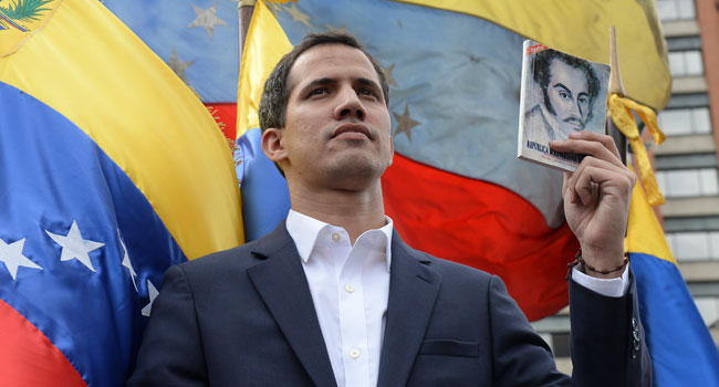 Re-Elected Venezuela Opposition Leader Guaido Calls For Protests