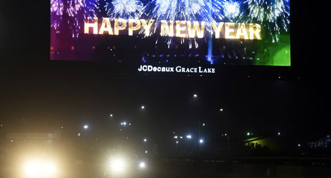 Nigerians Usher In New Year With Prayers And Fireworks