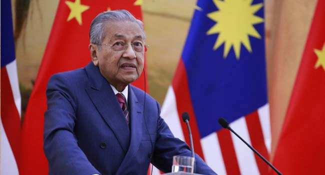 Malaysia Revived China Railway To Avoid $5 Bn Penalty – PM