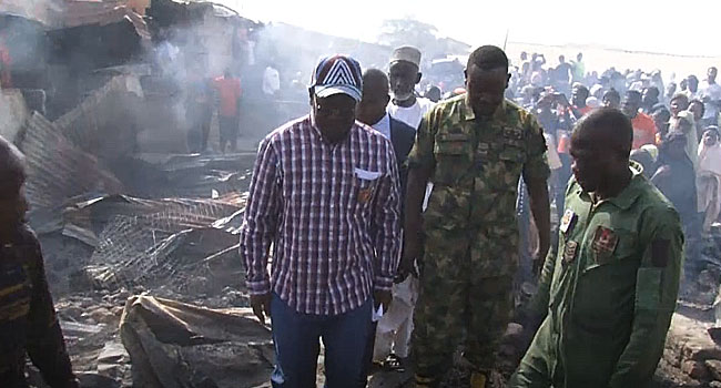 Fire Destroys Goods Worth Millions In Benue Market