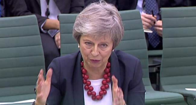 British PM May To Meet Ministers Amid Reported Moves To Oust Her