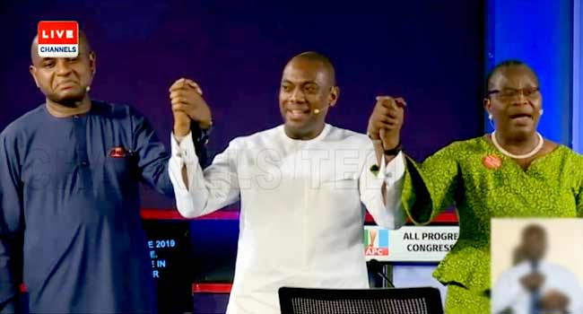 How Timi Dakolo United Presidential Candidates With Powerful Patriotic Song