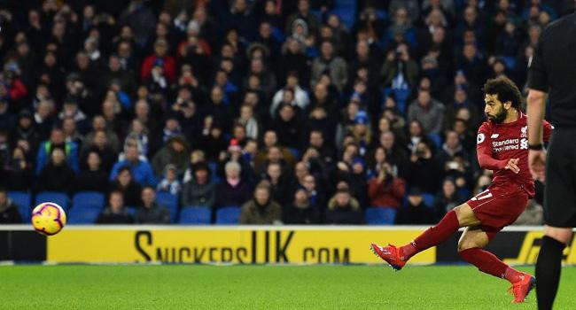 Premier League: Salah Sends Liverpool Seven Points Clear Again