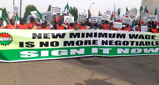 NLC Commences Nationwide Protest Over Minimum Wage