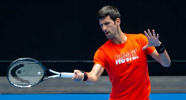 Djokovic Thrashes Murray In Open Practice Match