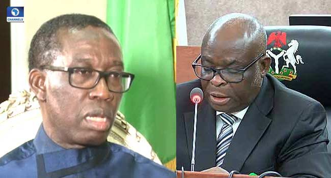 Okowa Faults Onnoghen's Suspension, Says Due Process Was Not Followed