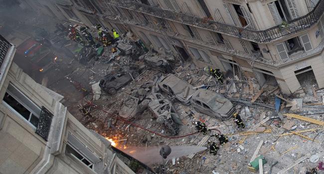 Two Firefighters, Tourist Killed In Paris Gas Leak Blast