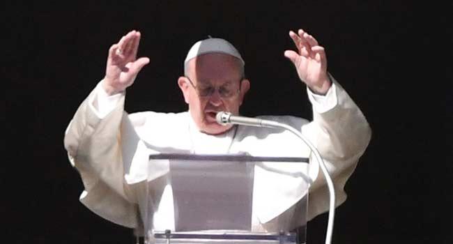 Pope Francis Sympathises With Coronavirus Victims
