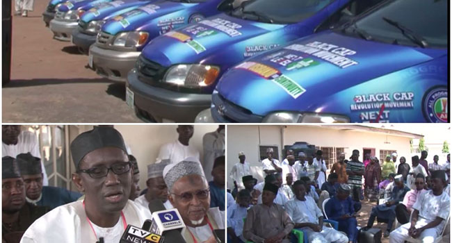 Ribadu Hands Over Cars For Buhari's Re-Election Campaign Amid Controversy