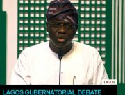 #LagosDebate: Sanwo-Olu Vows To Tackle Lagos Traffic In First Term
