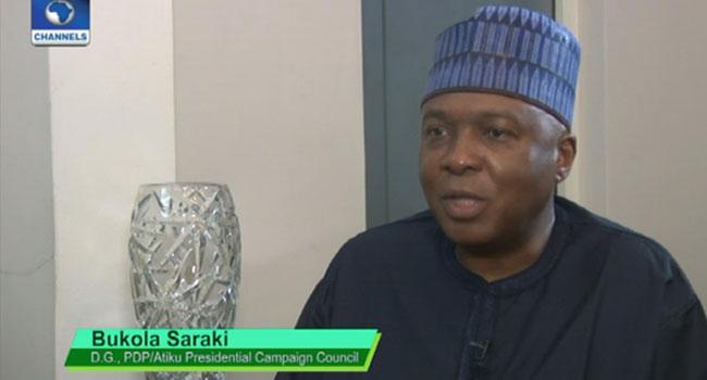 VIDEO: Buhari's Government Is Corrupt, Says Saraki