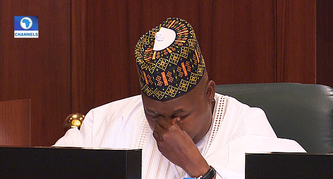 VIDEO: Borno Gov Weeps At Meeting With Buhari