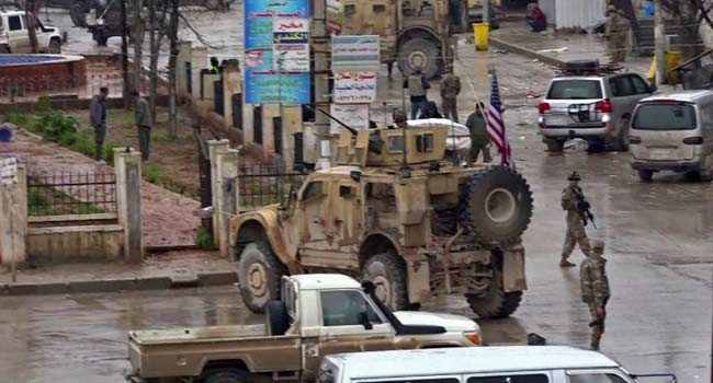 US Soldiers, Others Killed In Syria As ISIS Claims Responsibility