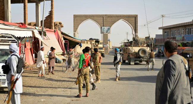 20 Afghan Forces Killed As Taliban Attacks Cities