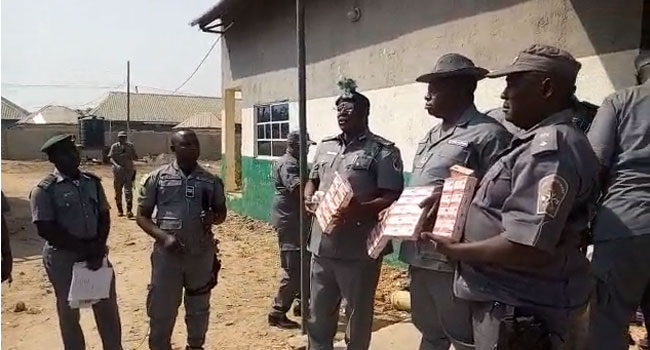 Customs Impound Trailer Carrying Tramadol, Illicit Drugs Worth N44m