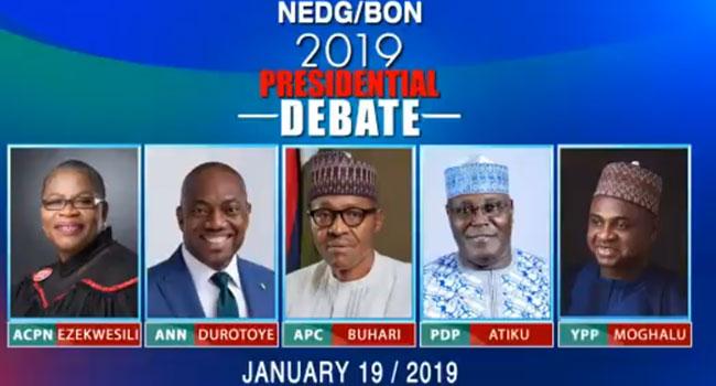 NEDG/BON Presidential Debate