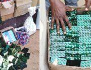 PHOTOS: NDLEA Raids Black Spots, Seizes Drugs And Guns In Abia