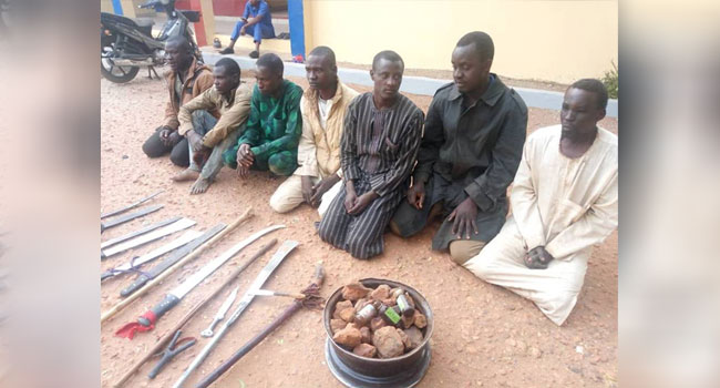 Army Arrests Notorious Hoodlums In Sokoto