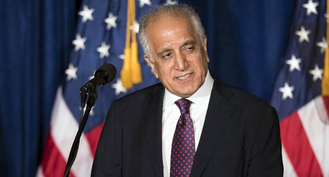 US Envoy Hails 'Significant Progress' In Taliban Talks