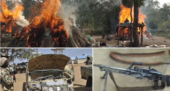 Troops Neutralise 58 Bandits, Free 75 Kidnapped Victims In Zamfara