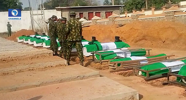 Fallen Heroes: FG Committed To Improving Welfare Needs Of Families – Defence Minister