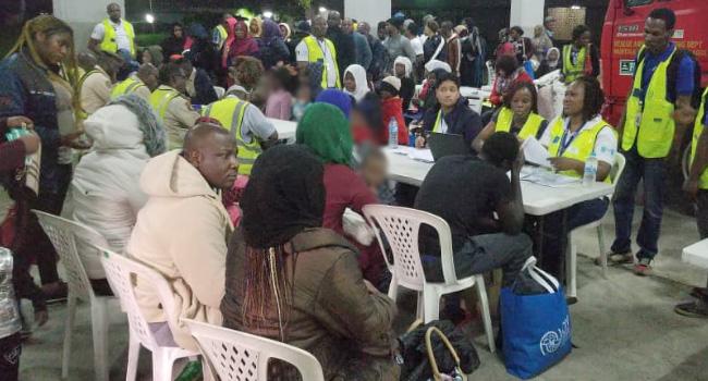NEMA Receives 162 Returnees From Libya