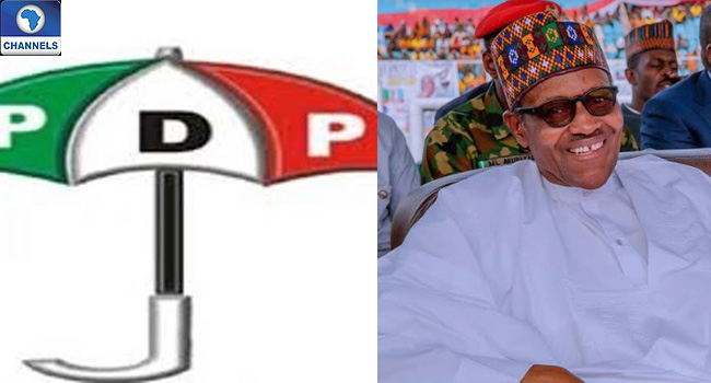 Put Your House In Order, PDP Tells Buhari
