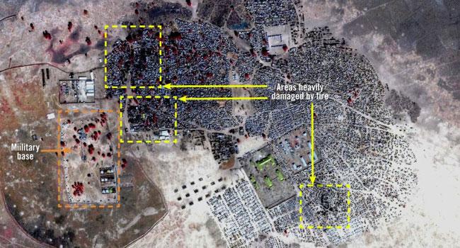 Amnesty International Condemns Rann Attack As Sattelite Images Show Damage