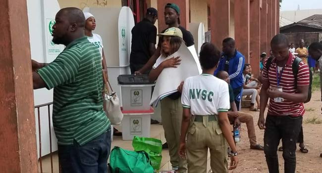 Nigerians Turn Up At Polls After Delay