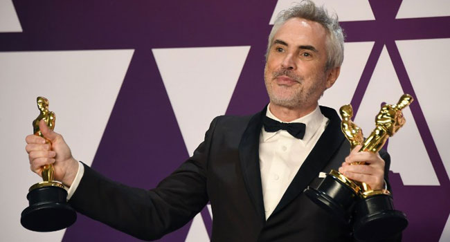 Autobiographical Drama 'Roma' Triumphs With Three Oscars
