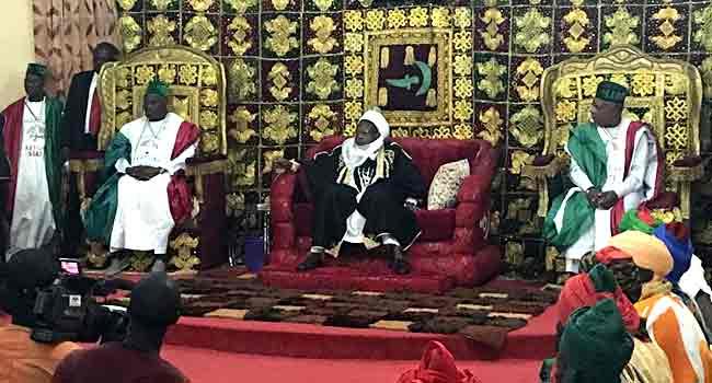 Atiku Campaigns In Katsina, Visits Emir Of Daura