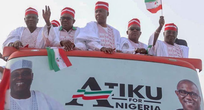 Atiku In Kano: Channels Television