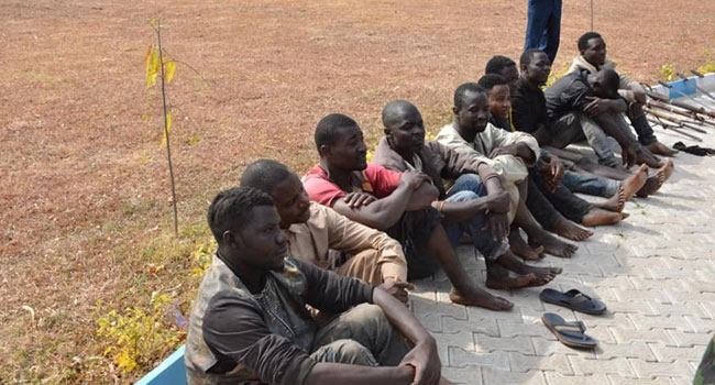 NAF Arrests 10 Bandits In Kaduna – Channels Television