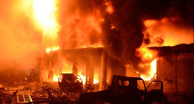 PHOTOS: Bangladesh Inferno Kills 70