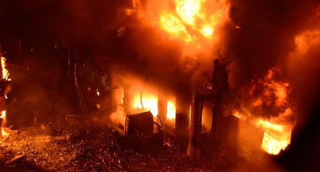 Inferno Kills At Least 70 In Dhaka Apartment Blocks