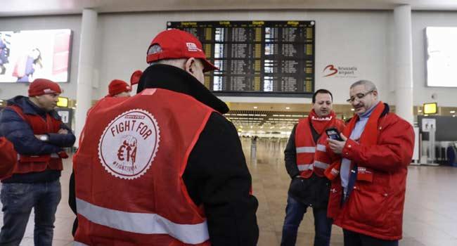 Economic Activities Grounded In Belgium Over Strike