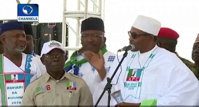 Buhari Continues Re-Election Campaign In Zamfara, Vows To Continue Anti-Graft War