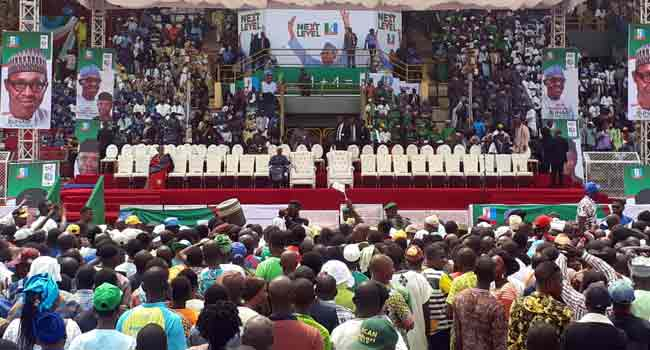 Buhari Takes Re-Election Campaign To Ogun