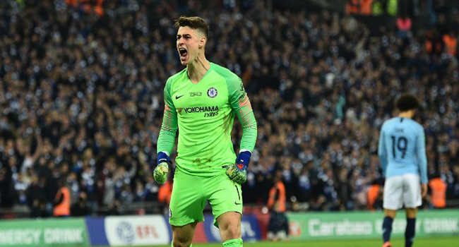 Chelsea's Kepa Fined, Apologises For League Cup Final Mutiny