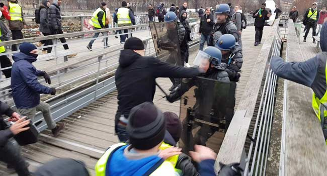 French 'Yellow Vest' Boxer Faces Trial For Assaulting Police